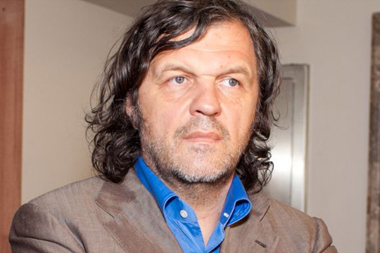 Emir Kusturica attends an event in Moscow, Russia.Pictured: Emir KusturicaRef: SPL282214  260511 Picture by: Starface.ru / Splash NewsSplash News and Pictures Los Angeles:	310-821-2666 New York:	212-619-2666 London:	870-934-2666 photodesk@splashnews.com