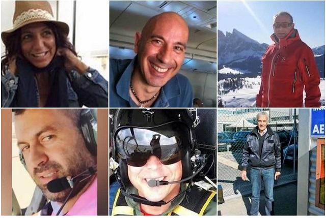 ФОТО: Ова се жртвите на авионската несреќа