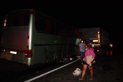 Возачот на автобусот виновен за несреќата во Турција