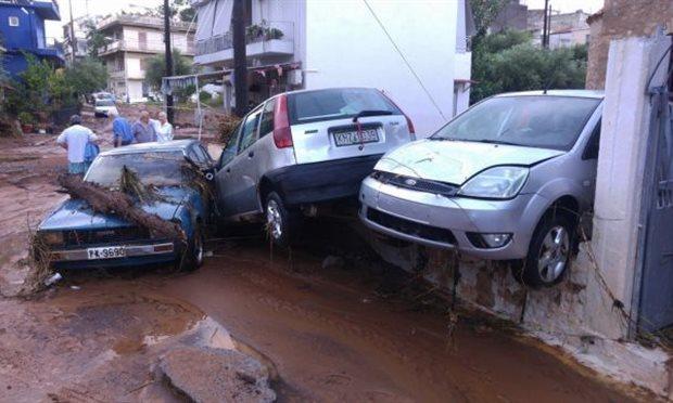 Грција под вода: Починати лица, сообраќајни несреќи…
