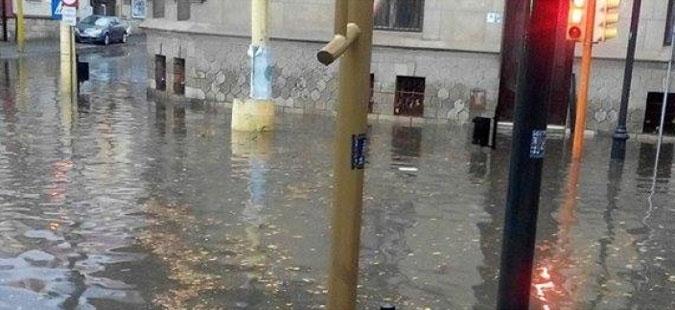 Романија погодена од обилни дождови и бури