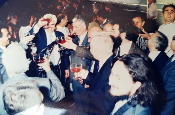"""Милан Талевски за """"Прес 24"""": Независноста беше наздравена со македонско вино"""