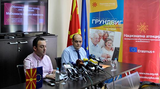 Македонија преку Еразмус плус во 2017 ќе има на располагање 6,25 милиони евра