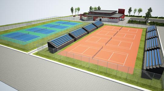 Нов тениски центар ќе се гради во Аеродром