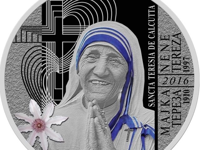 Нова кована пара за колекционери со ликот на светицата Мајка Тереза