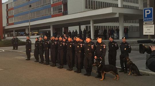 Замена на чешките полицајци на македонско-грчката граница