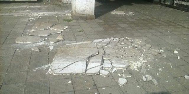 Екипи на ИЗИИС и Град Скопје во увид на штетите од земјотресот