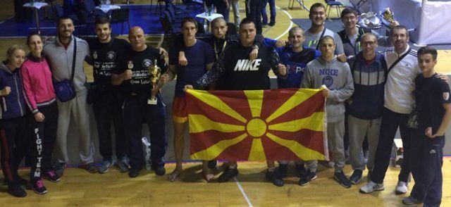 Со 19 медали, македонските кик боксери се закитија во Сараево