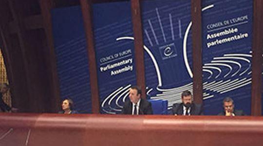 Николоски претседаваше со Парламентарното собрание на Советот на Европа