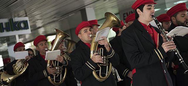 Концерт на Градскиот дувачки оркестар по повод 23 Октомври