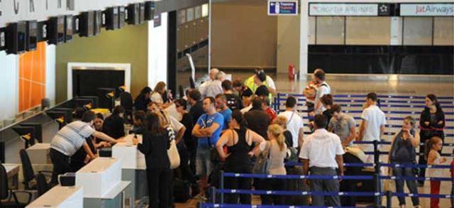 Пораст на патниците на авио сообраќајот, најчеста дестинација е Истанбул