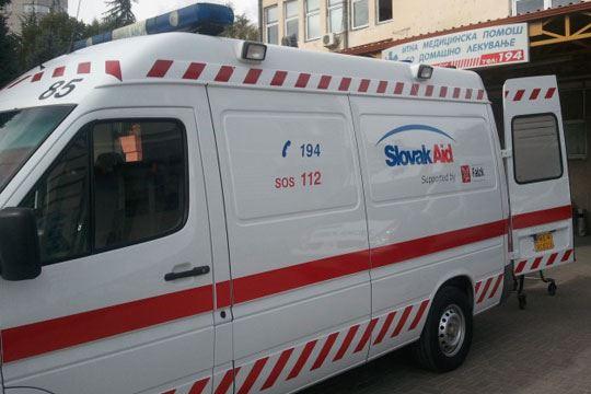 Амбулантно возило донација од Словачка за Здравствен дом-Битола