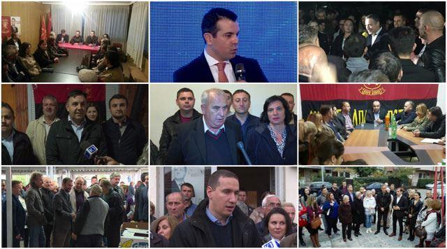 ВМРО-ДПМНЕ на терен: На 11 декември народот ќе стави крај на кризата која ја создаде СДСМ