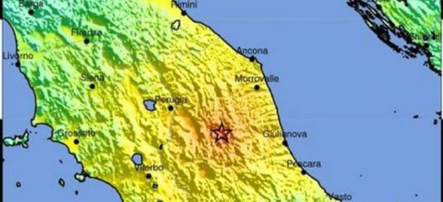 Нема жртви во земјотресот, соопшти италијанската Служба за цивилна зажтита