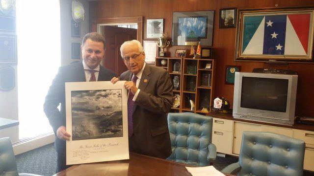 Посета на Груевски во САД исклучително продуктивна за земјава, поддршка за членство на Македонија во НАТО