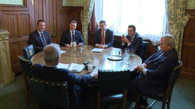 Груевски и партиската делегација остварија средби со повеќе лордови и пратеници од Британскиот парламент