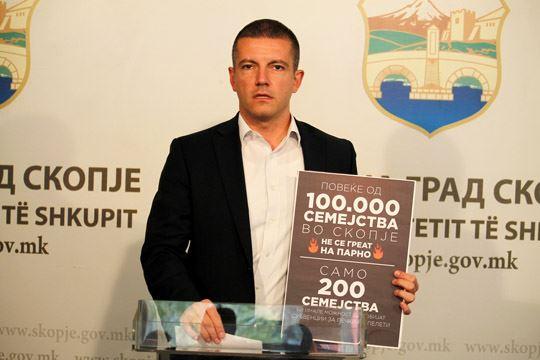 Манчевски: Не се доволни субвенциите на Градот за печки на пелети