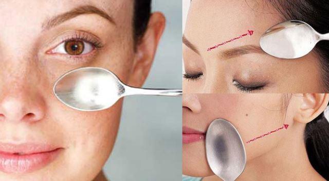 Масажа со лажици за лице без брчки (ВИДЕО)