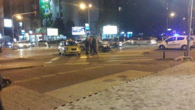 Сообраќајка пред Собрание (ФОТО)