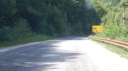 Утре четири часа прекин на сообраќајот на патот Бошков мост-Косоврасти