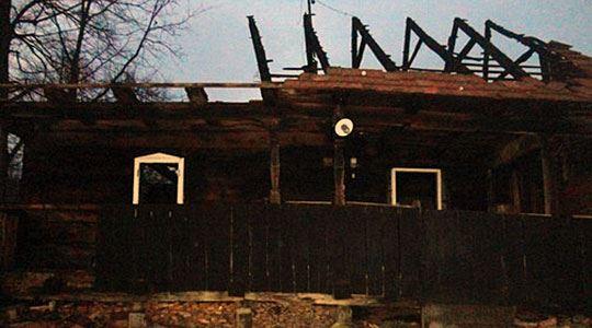 Изгоре објект за чување на стока во Делчево