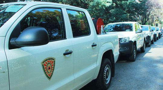 ДЗС додели пет противпожарни возила