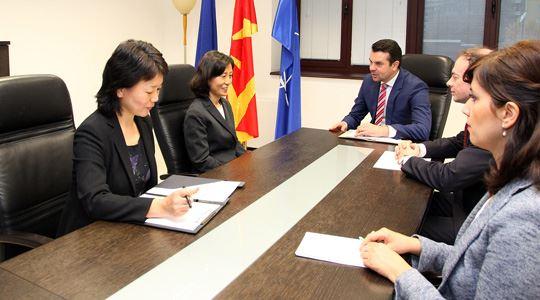 Попоски ги прими акредитивните писма од новиот кинески амбасадор Јин Лисјен