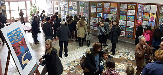 """Пет награди за членови на Ателје Бојар на изложбата """"13 Ноември"""""""
