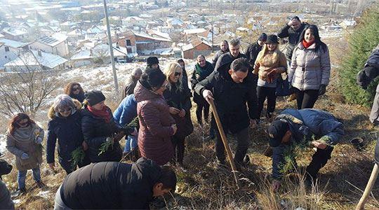 Ристовски: Денот на дрвото помага за рзвој на еколошка свест