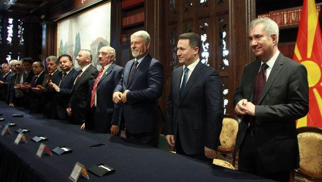 Додека коалицијата на СДСМ се распаѓа, ВМРО ДПМНЕ ја оформи најголемата коалиција досега