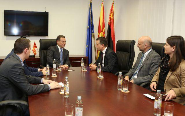 Груевски се состана со пратеникот во германскиот Бундестаг, Торстен Фрај