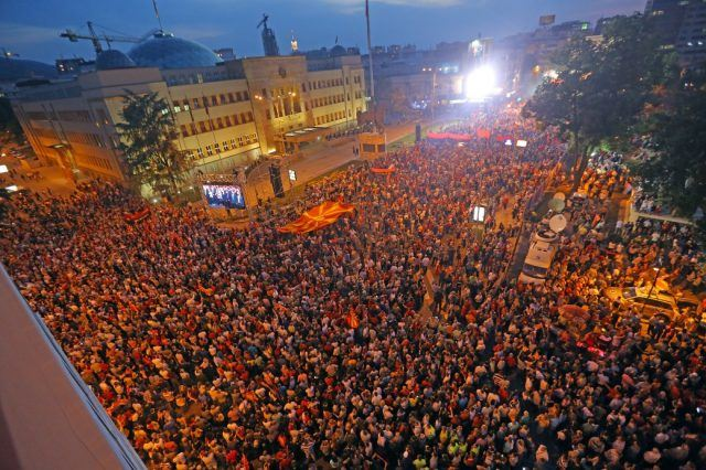 Голем митинг на ВМРО-ДПМНЕ вечерва во Скопје