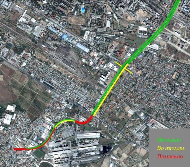 Ќе се уриваат 20 објекти за пробивање на булеварот Србија кон Кисела Вода