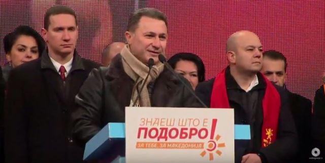 Груевски: СДСМ ќе го претрпи десеттиот пораз затоа што го потценува народот