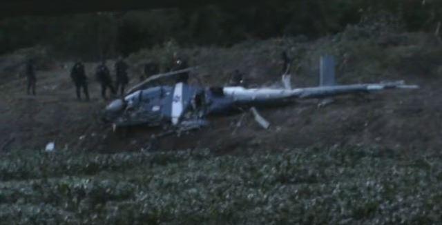 Четворица бразилски полицајци загинаа при уривање на хеликоптер