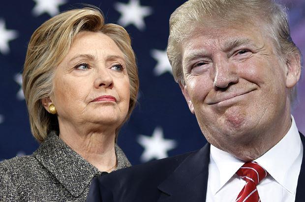 Клинтон пречекана со овации на гласачкото место, Трамп исвиркан (ВИДЕО)