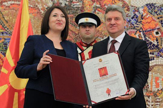 """Признание """"Повелба на Република Македонија"""" на Инженерската институција на Македонија"""