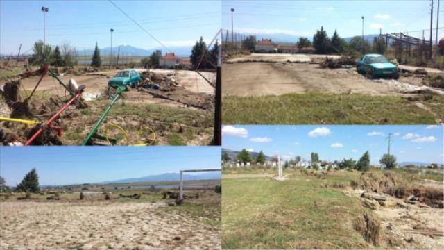 30.000 долари за реконструкција на спортските објекти во поплавените подрачја во скопско