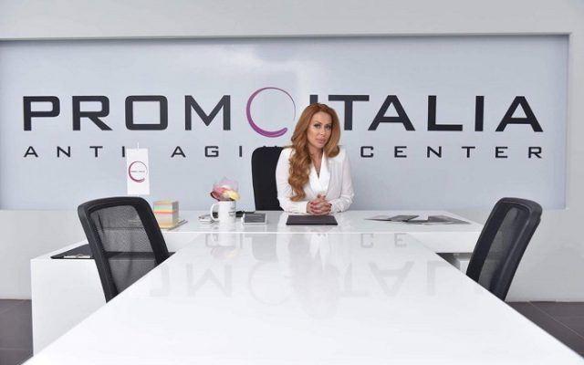 Олгица Стојимировиќ, сопственичка на Аnti Aging Center by Promoitalia