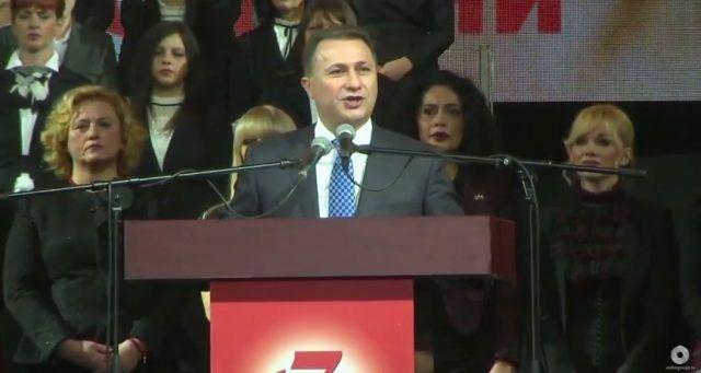 Груевски: Уште 5 недели до големата победа на македонските граѓани против оние кои ги потценуваа