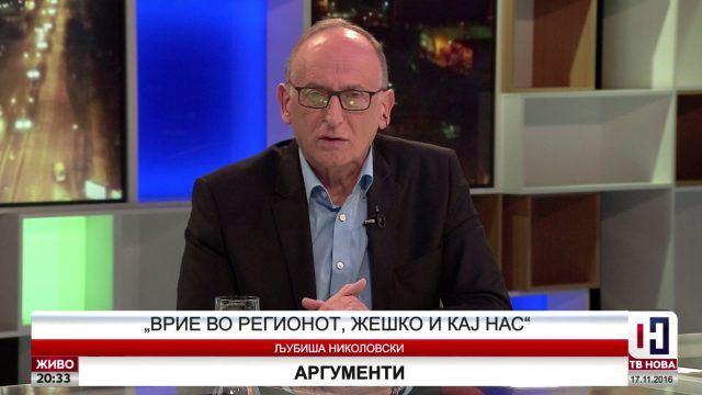Оливер Спасовски му забрани на Д-р Златко Николовски да гостува во ТВ Нова