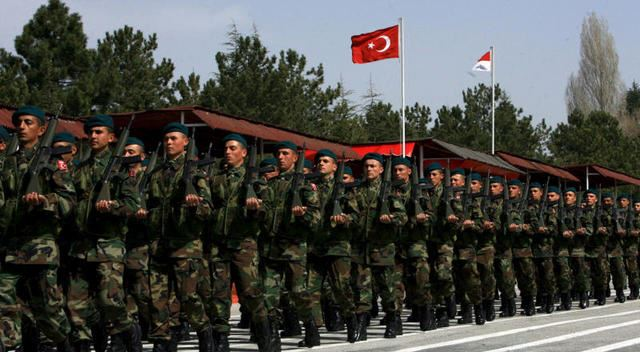 turkey-army