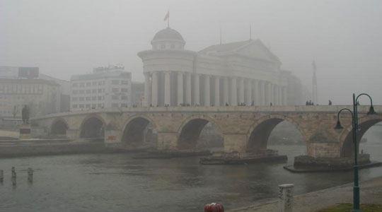 Најстудено во Скопје и Берово, воздухот најзагаден во Скопје