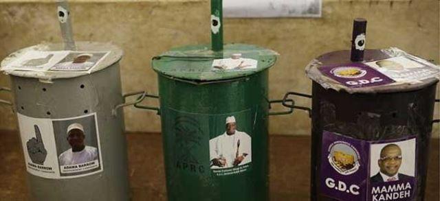 Претседателски избори во Гамбија