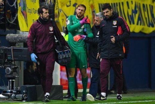 Атлетико три месеци без првиот голман