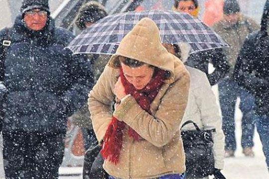 Утре слаб снег и северен ветер