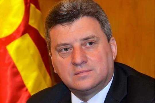 Претседателот Иванов во посета на македонско-грчката граница