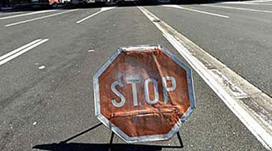 Во прекин сообраќајот на патот Ресен-Битола-Прилеп