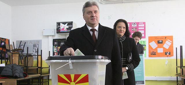 Изјава на претседателот Ѓорге Иванов по гласањето на изборите