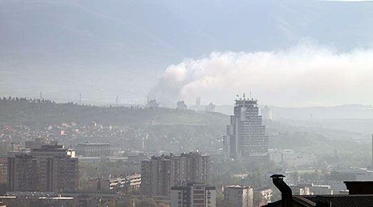 Најстудено и најзагадено утрово во Скопје